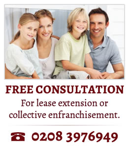 FREE CONSULTATION For lease extension or collective enfranchisement. Tel: 0208 3976949